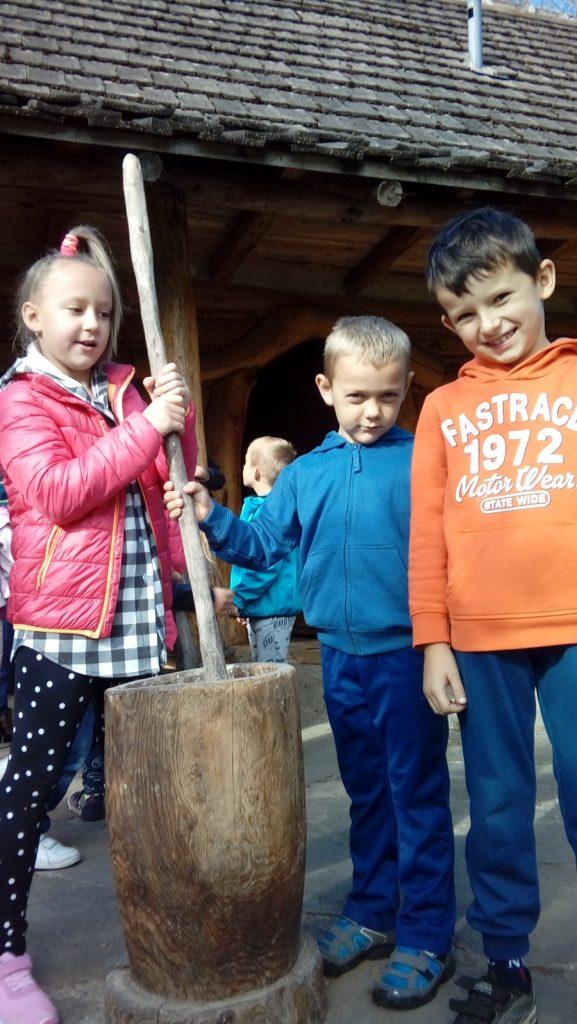 Wizyta w zagrodzie edukacyjnej Bacówka u Harnasia