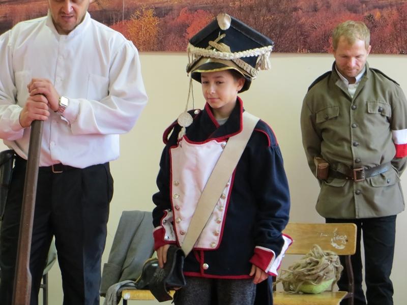Żywa lekcja historii na 100-lecie odzyskania niepodległości