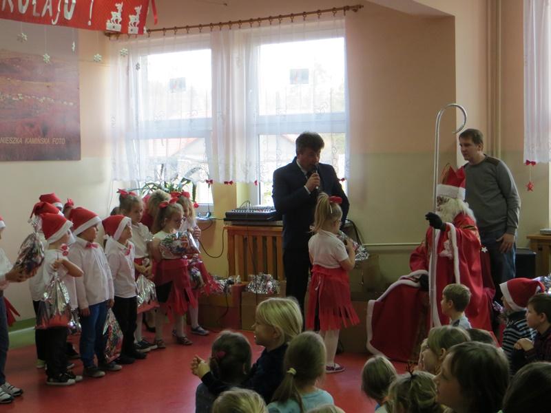 Odwiedziny Świętego Mikołaja